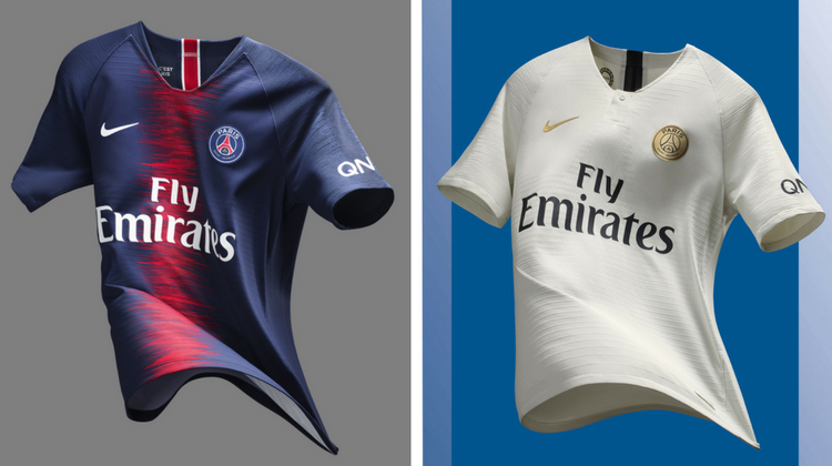 PSG away kit 2018-2019 Nike