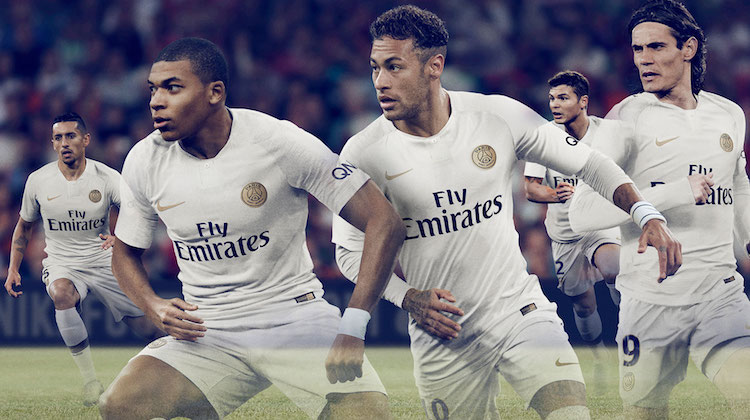 PSG away kit 2018 2019