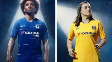 Chelsea home away kit 2018 2019