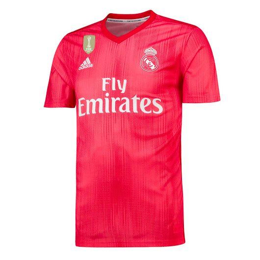 divisa calcio Real Madrid 2018