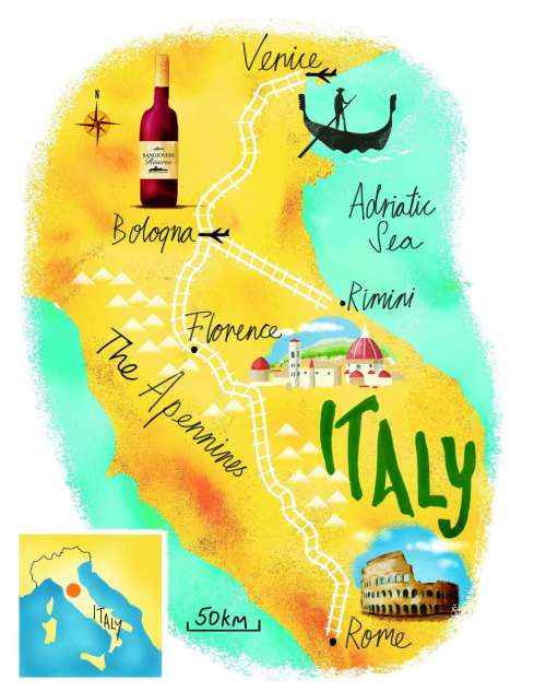 private-tours-italy-map