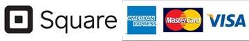 Square:AMERICAN EXPRESS/MasterCard/VISA