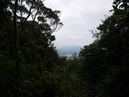 三太郎峠から内海