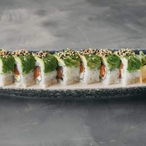 Amami Sushi Negitoro Dragon Uramaki