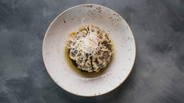 Amami Sushi Portobello Mushroom Tempura