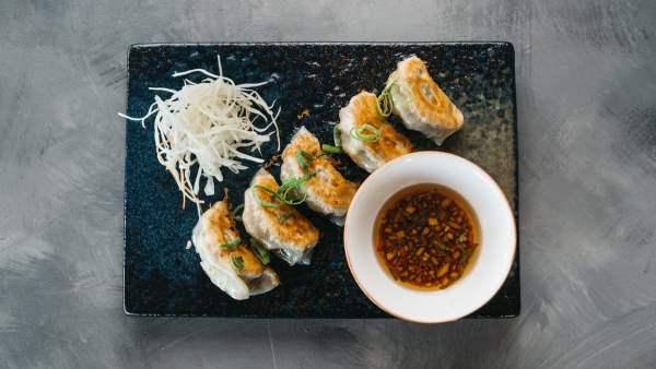 Amami Sushi Veg Gyoza