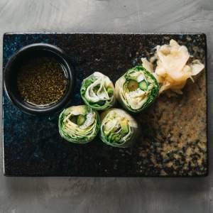 Amami Sushi Vietnamese Rice Paper Veg Rolls