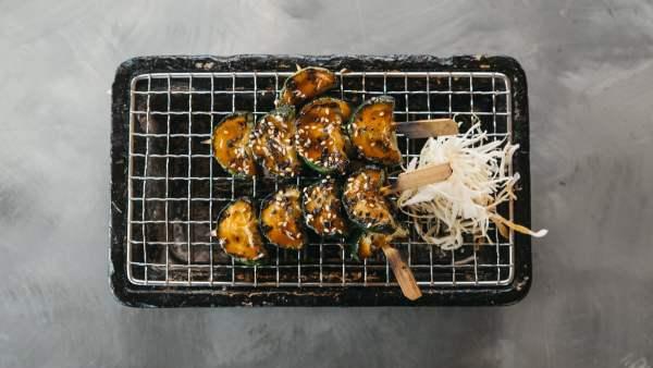 Amami Sushi Zucchni Skewers