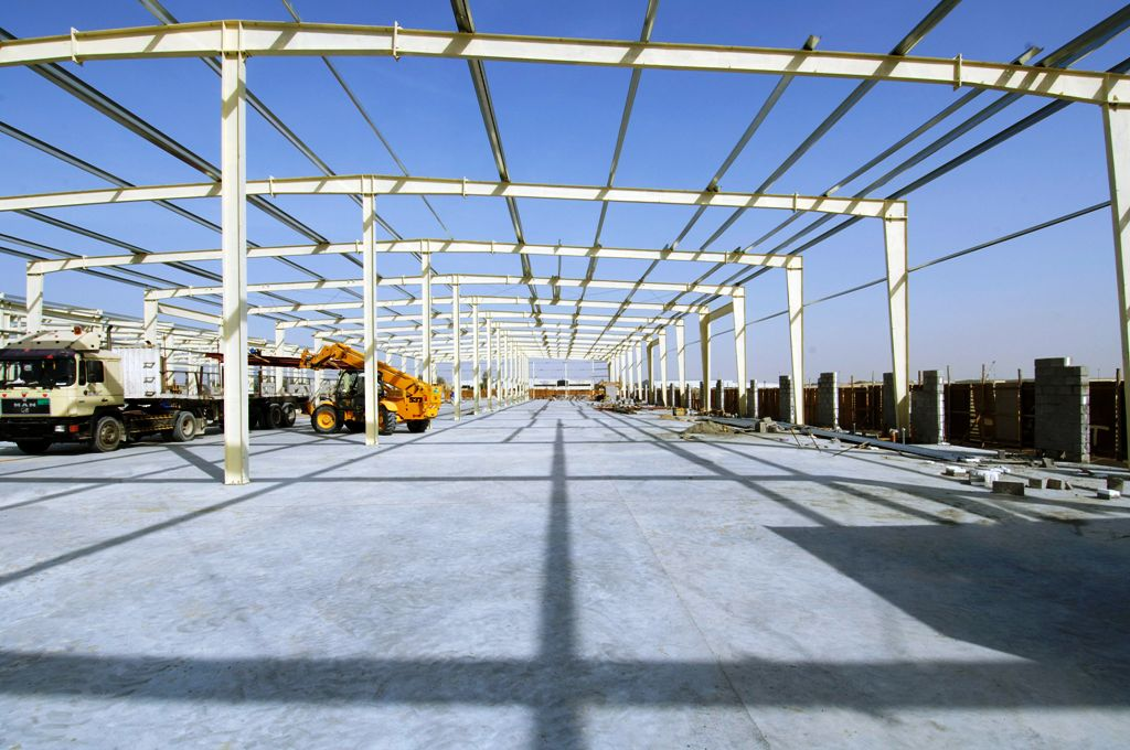 Warehouses for Al Zahra Real Estate at Sharjah Industrial Zone