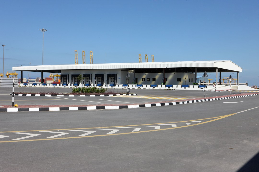 CT2 Inspection Facility for Dubai Ports Authority at Jebel Ali Free Zone