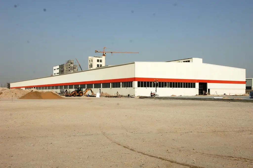 Manufacturing Facility for Qatar International Cable Company (Nexans) at Messaieed Industrial City