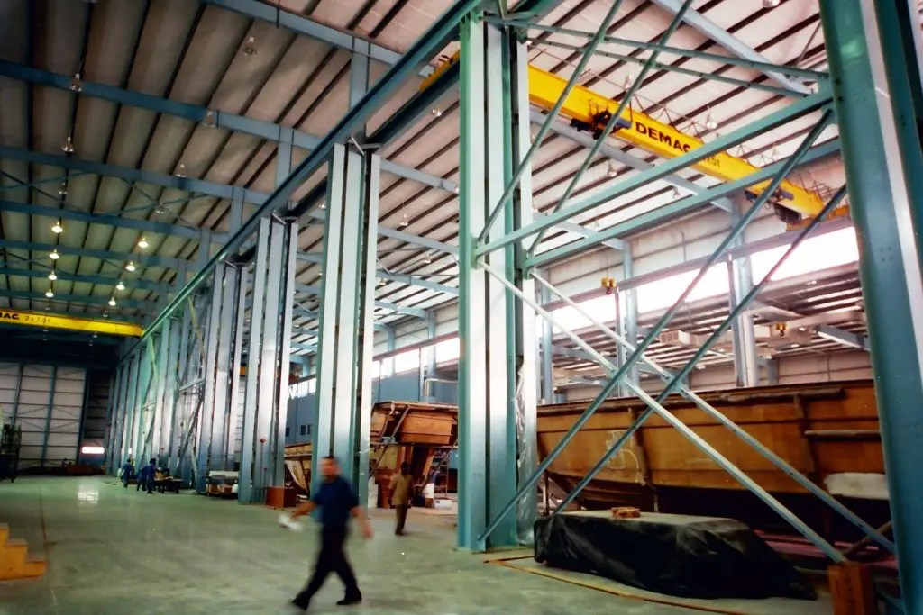 Boat Manufacturing Facility for Gulf Craft at Umm Al Quwain