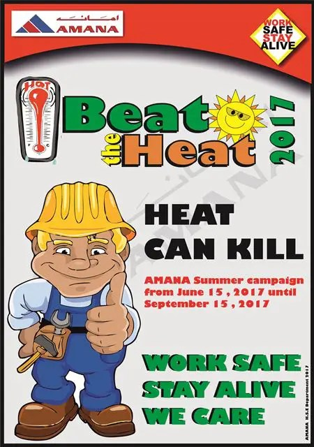 Beat the Heat Campaign 2017