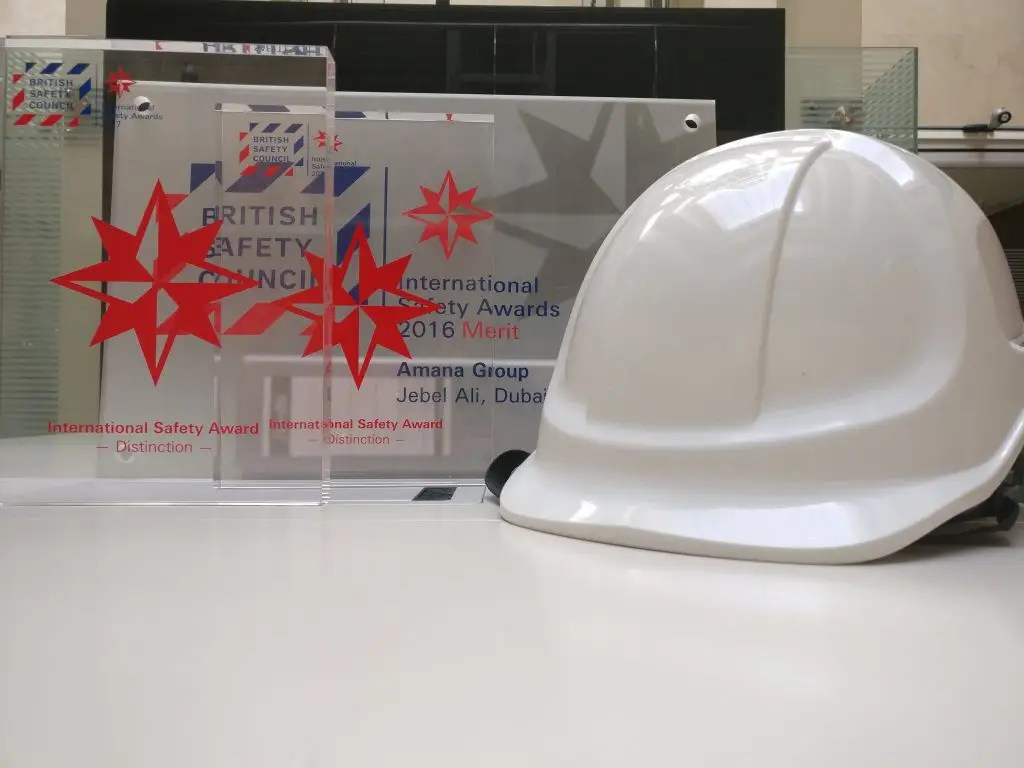 International Safety Awards for Amana Contracting