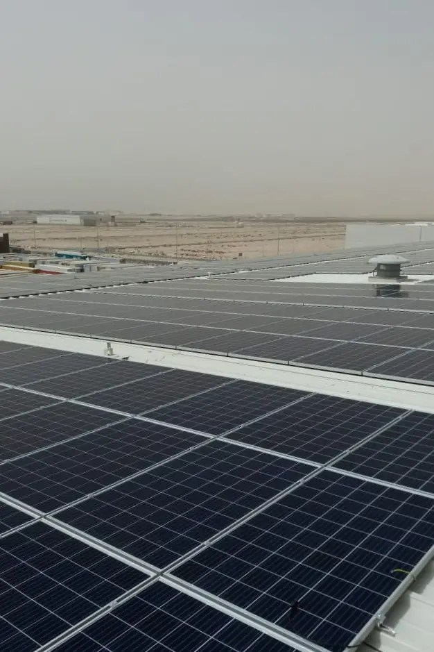 RSA Cold Chain Solar Rooftop