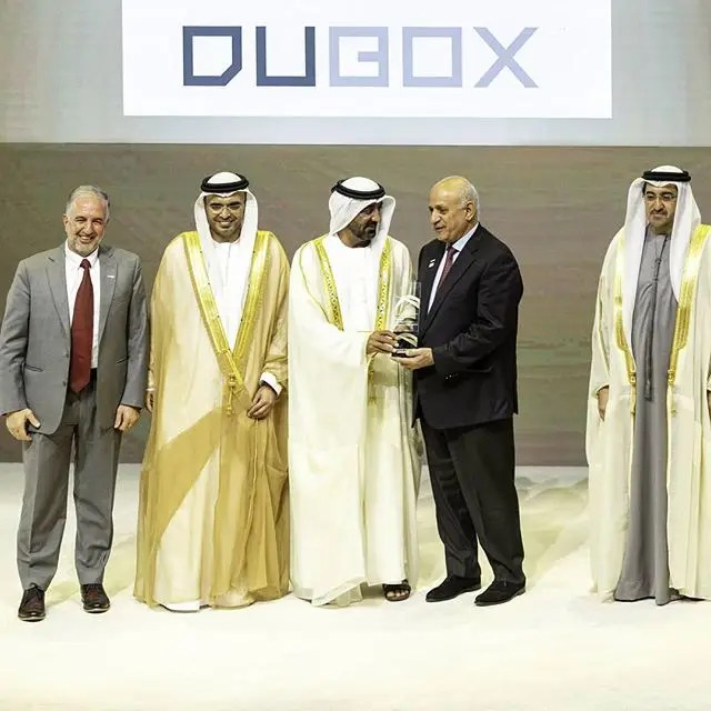 DUBOX wins Mohammed Bin Rashid Al Maktoum Business Innovation Award
