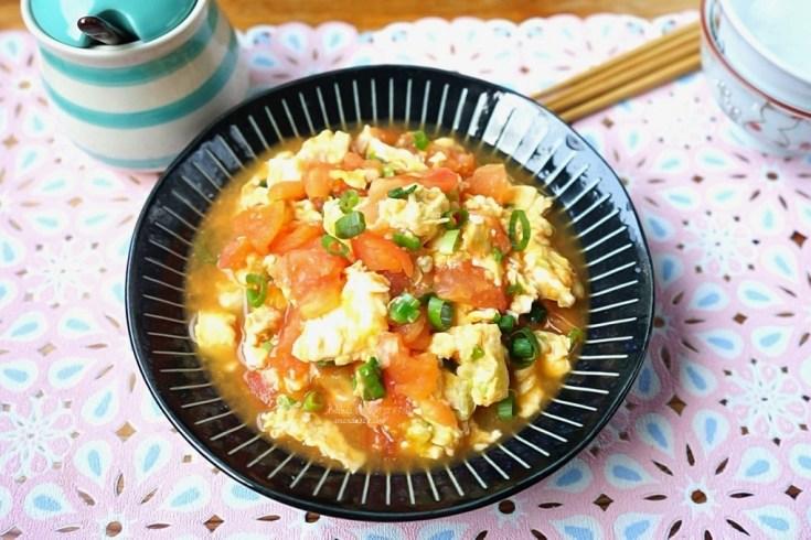 十分鐘上菜,炒番茄,炒蛋,番茄炒蛋,番茄豆腐 @Amanda生活美食料理