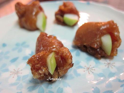 年菜-甜年糕料理-年糕棗子