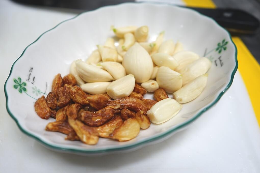 炸蒜頭,蒜頭雞,雞湯,電鍋料理,電鍋雞湯