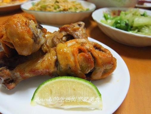 泰式酸辣烤雞腿