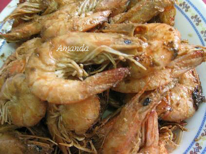 白蝦,胡椒蝦,草蝦 @Amanda生活美食料理