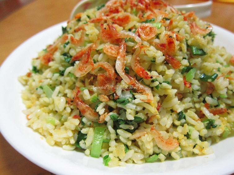 櫻花蝦,炒飯,蛋炒飯,黃金炒飯 @Amanda生活美食料理