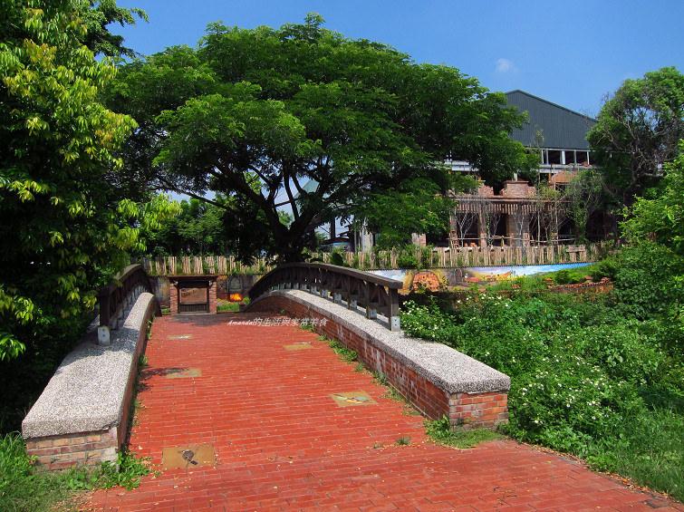 『高雄』大樹舊鐵橋生態公園-濕地、水鳥、綠意、騎鐵馬