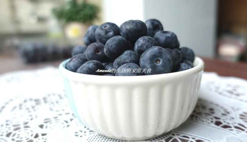 """新鮮酸甜""""智利藍莓""""讓人愛不釋口 -就是愛這樣吃!藍莓鮮蝦沙拉、 藍莓香草冰淇淋鬆餅"""