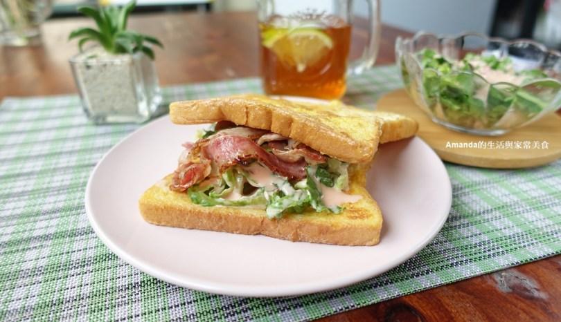 米可簡易料理-法式培根三明治
