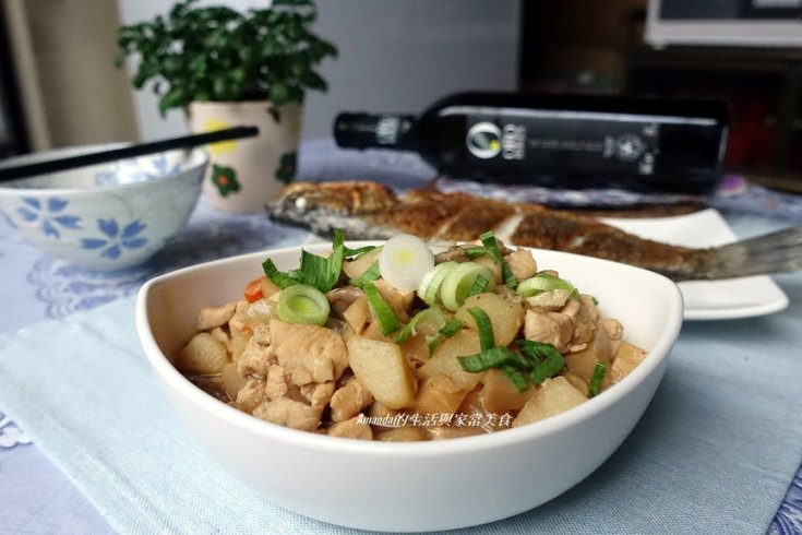 低脂,十分鐘上菜,杏鮑菇,橄欖油,肉燥,雞胸肉 @Amanda生活美食料理