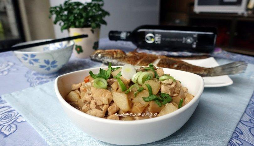 香蒜雞肉燥-不油膩好下飯