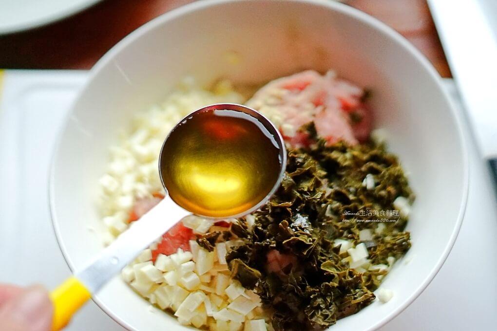 手工肉丸,筍子肉丸,肉丸,茶湯入菜,茶肉丸,茶餐