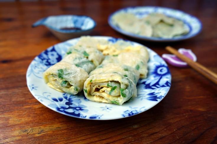 免揉麵糰,早餐,疏食,蛋餅,軟Q蛋餅 @Amanda生活美食料理