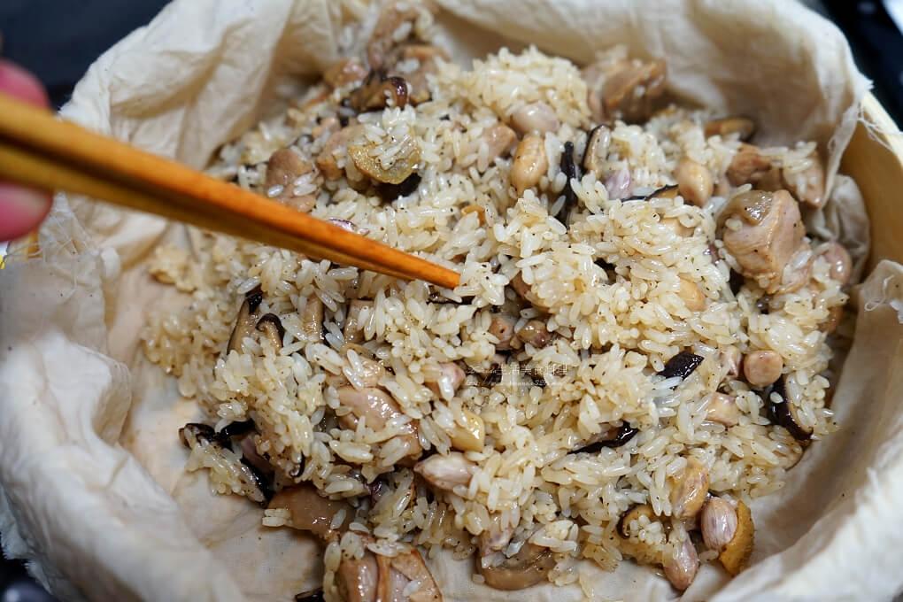 年菜,油飯,竹蒸籠,米糕,麻油米糕