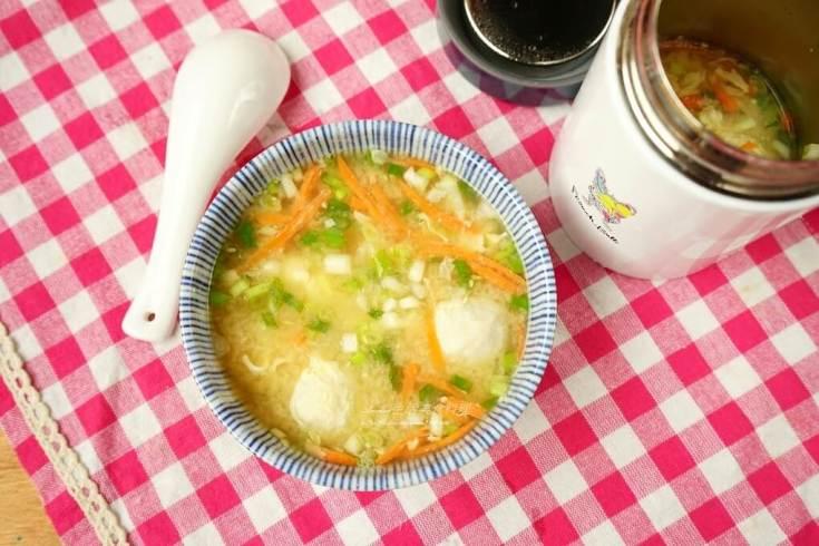味噌湯,悶燒罐,魚丸湯 @Amanda生活美食料理