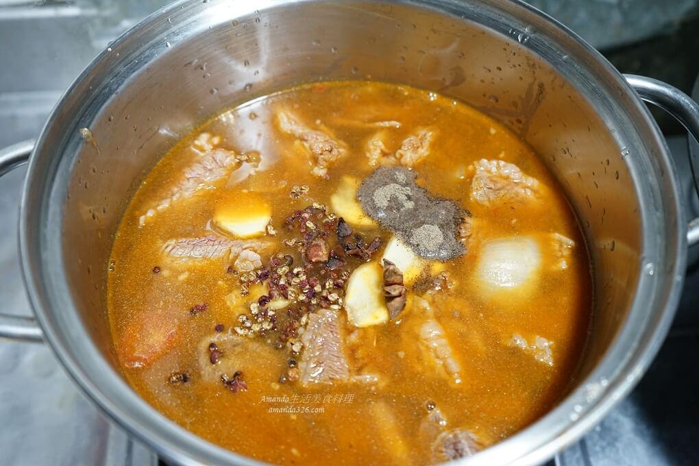 炒酸菜,牛肉麵,牛肋條料理,番茄牛肉,紅燒牛肉,紅燒牛肋條