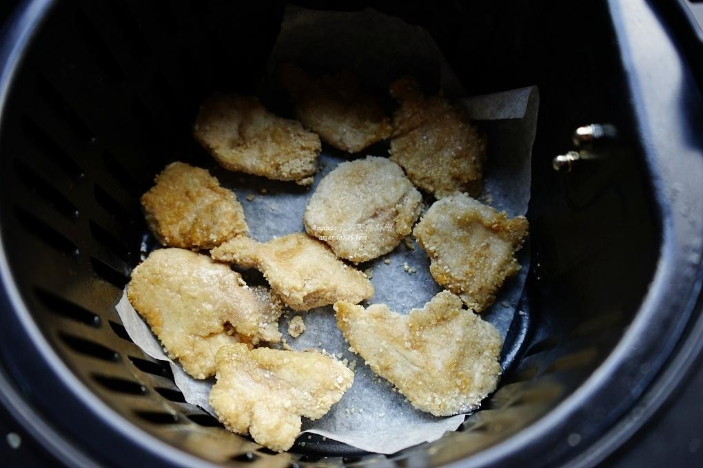 十分鐘上菜,十分鐘料理,氣炸料理,氣炸食譜,炸雞肉,雞胸肉,雞胸肉料理,鹹酥雞,鹽酥雞