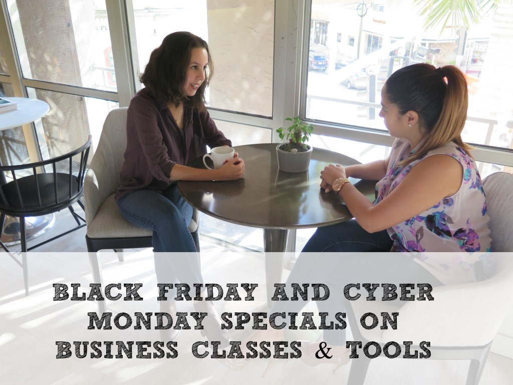 2016 Black Friday and Cyber Monday Specials on Business Tools and Classes