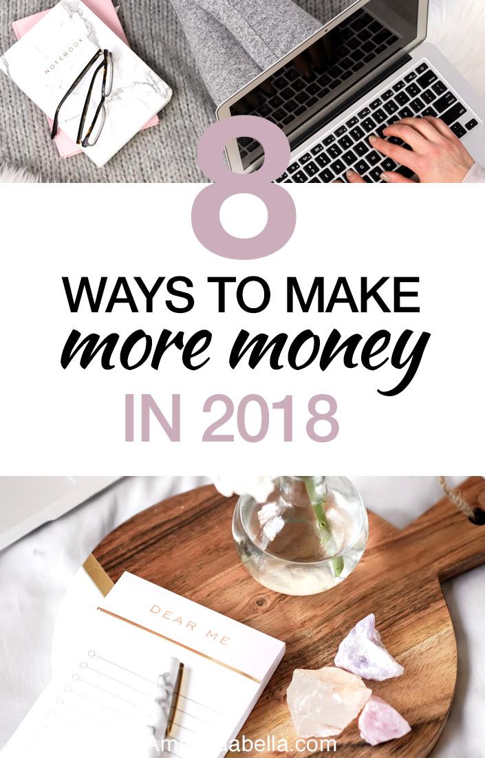 make more money in 2018