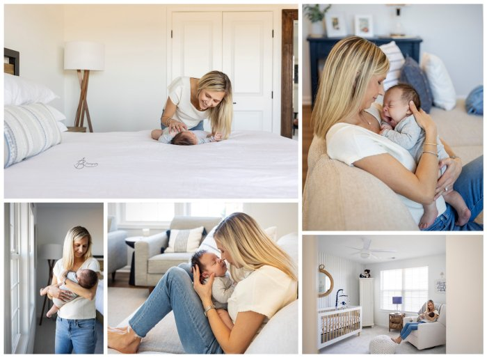 In Home Motherhood Sessions 3.24.2021