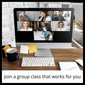 Join a group class that works for you