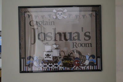 Pirate Room for my little boy