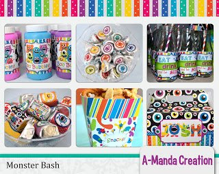 Monster Bash Party Printables