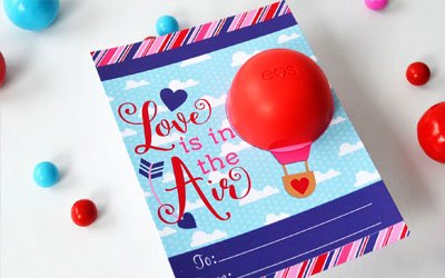 Valentine Lip Balm Gift Holders