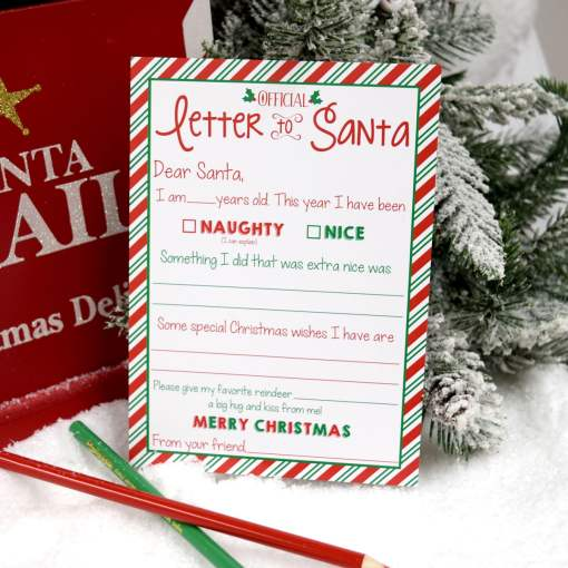letter to santa red envelopes santa stickers