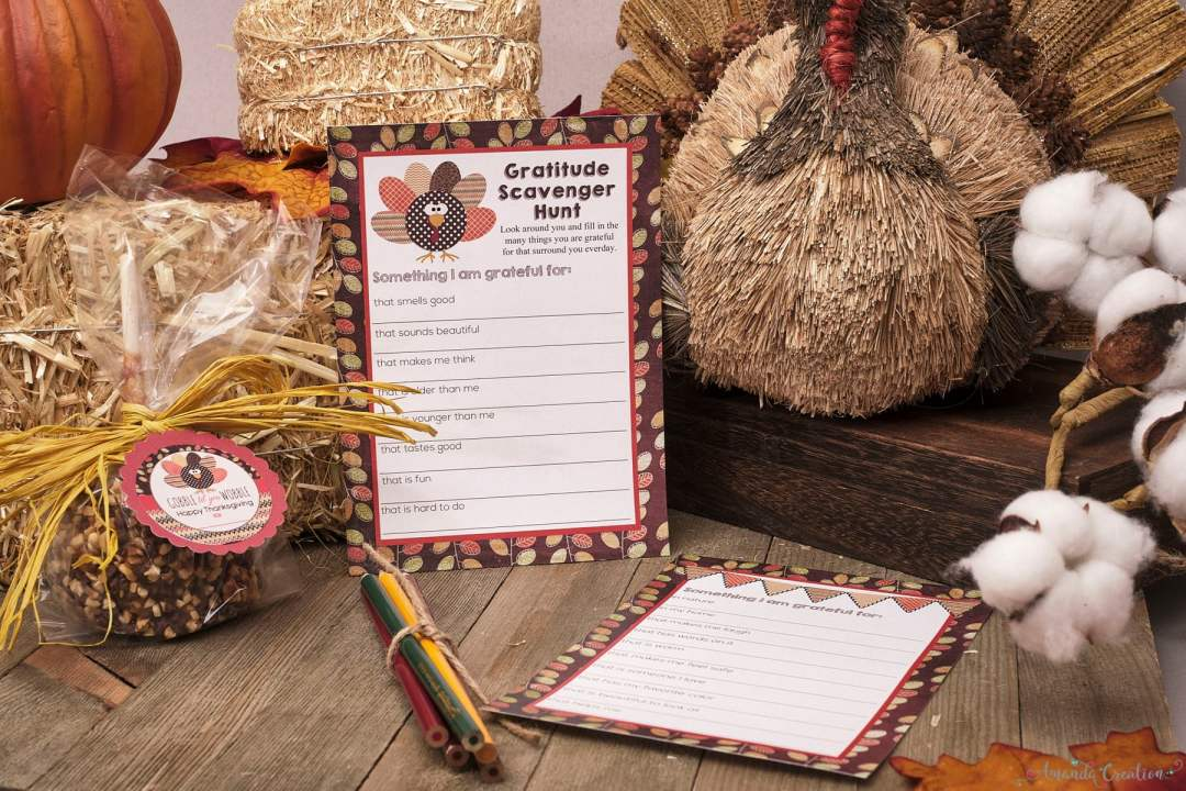 Thanksgiving party game