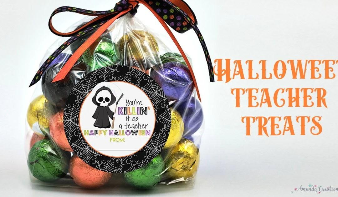 Fab-BOO-lous Halloween Treats for Teachers