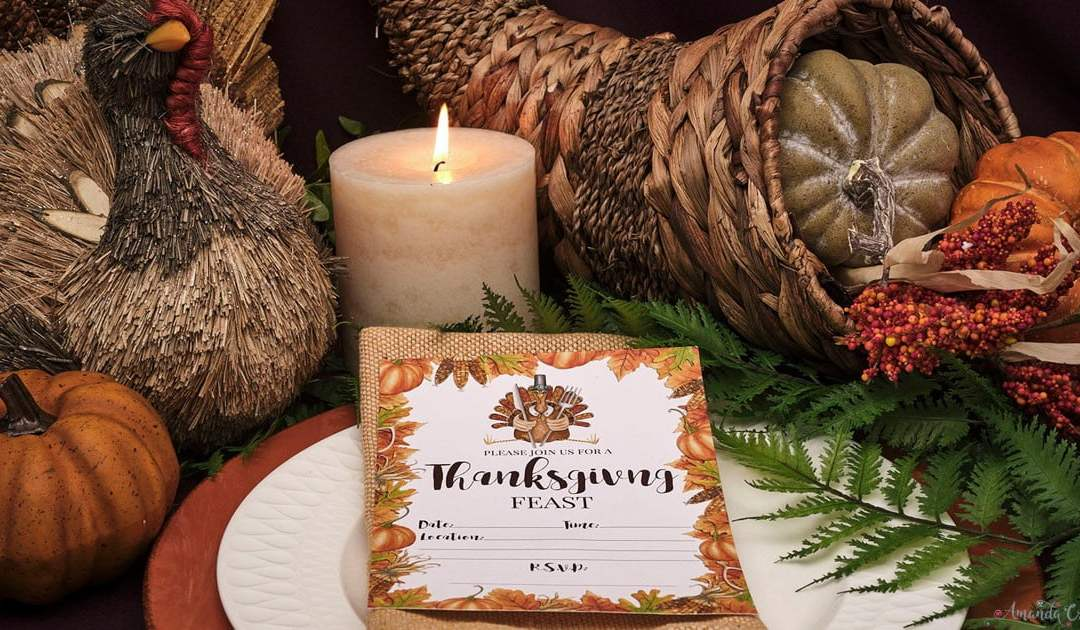 A Cornucopia of Thanksgiving Invitations