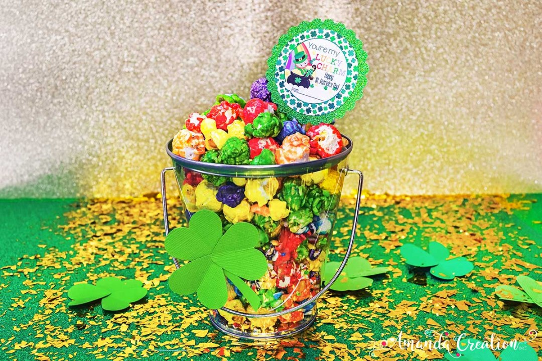 Lucky Charm St. Patrick's Day Gift Sticker