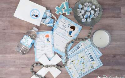 A Special Boy's First Holy Communion Party